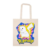 RIPNDIP Catch Em All Tote Bag Natural O/S