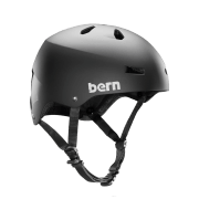 "Bern-Macon EPS Satin Black ""Team Macon"" Black"