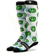Stance Mens Snow Drizzle Green