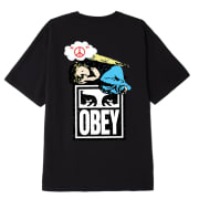 OBEY ANGEL T-SHIRT Black