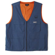 Obey Undertone Vest Blue