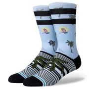 Stance Aloha Monkey Light Blue
