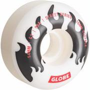 Globe G1 54 White/Black/Flames