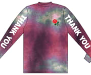 Chinatown Market Thank You Tie Dye Long Sleeve Purple