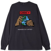 OBEY SQUEEZE OUT HATRED LS Misc