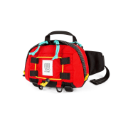 TOPO Subalpine Hip Pack  Red/Black Ripstop One Size
