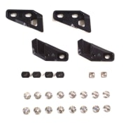 Spark Fixie Clips, Through-Mount Black OS