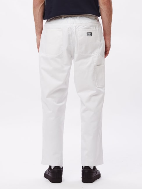 Obey Carpenter Bukse Khaki | Herre | Bukser Chinos på