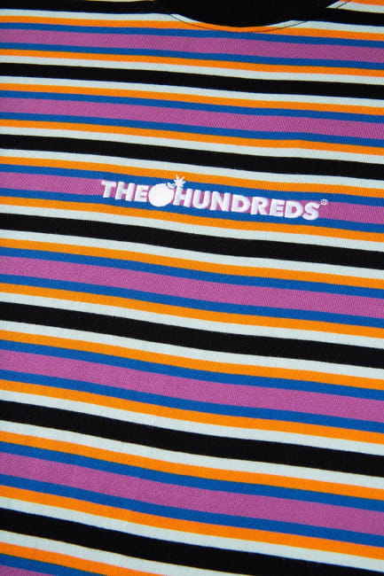 The Hundreds Pike Ss T Skjorte Blue | Fri frakt på alle