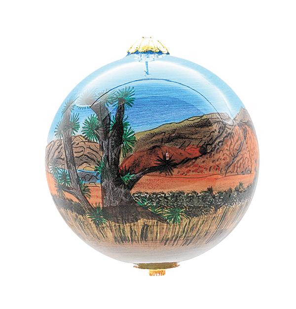 Red Rock ornaments