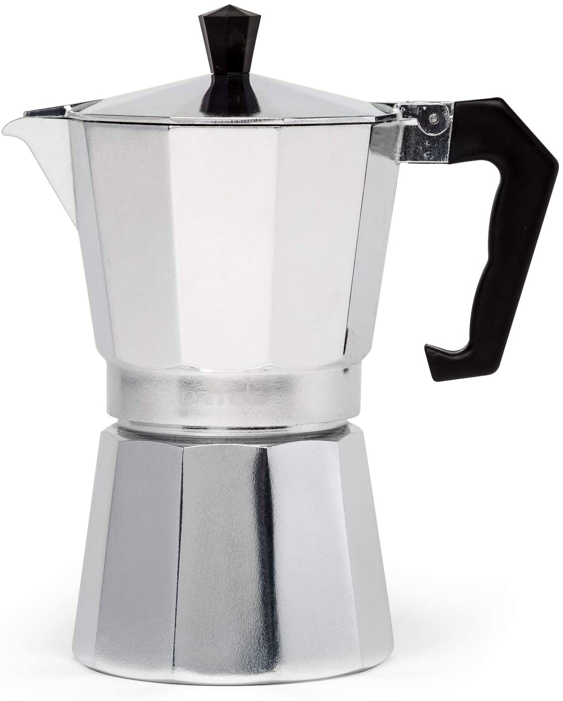 Primula Aluminum Espresso Maker – Aluminum – For Bold, Full Body Espresso – Makes 6 Cups (PES-3306)