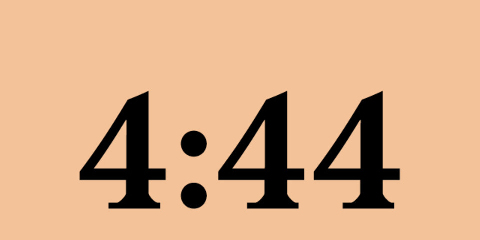 Jay-Z's new album '444' has officially arrived