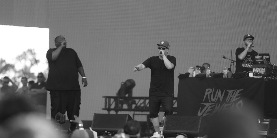 Run the Jewels pay homage to Linkin Park's Chester Bennington on 'Jimmy Kimmel Live'