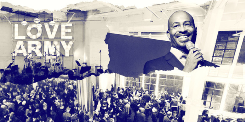 Join the WE RISE tour with Van Jones Roc Nation