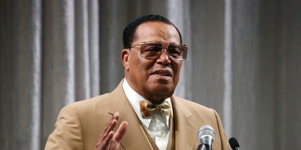 Minister Louis Farrakhan warns Trump at fiery D.C. press conference:
