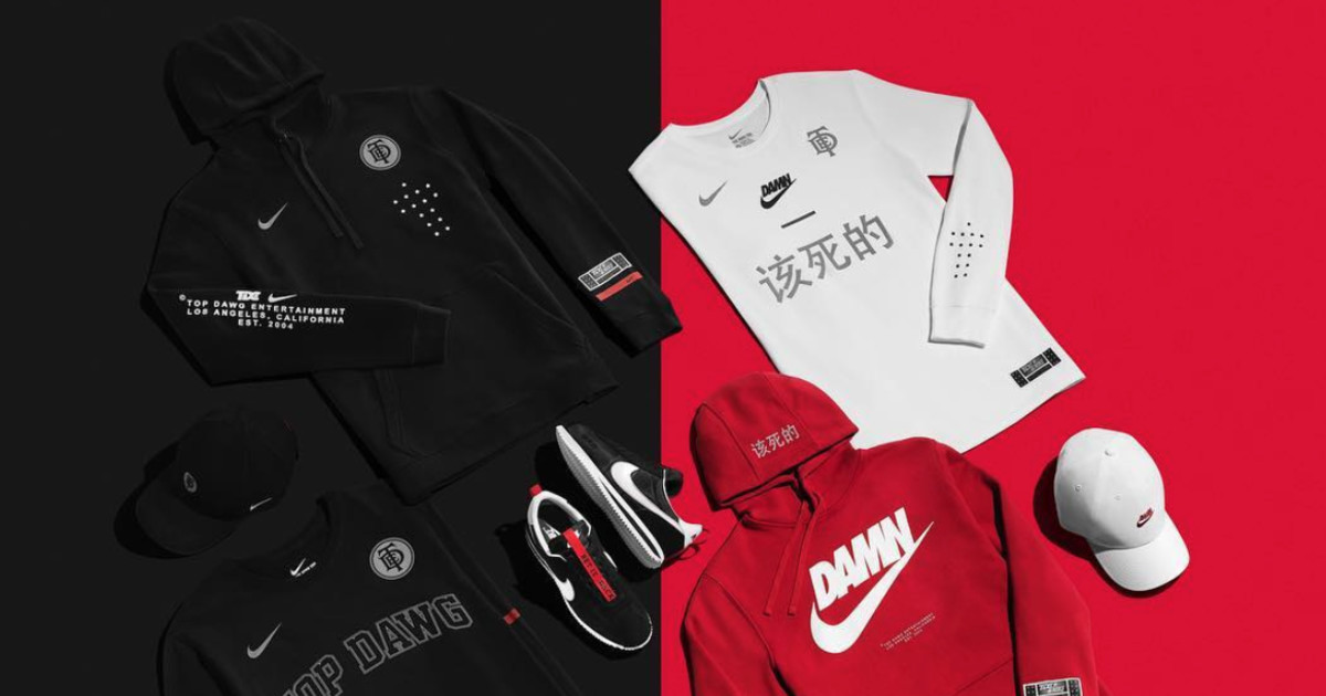 90f94798 Top Dawg Entertainment and Nike release capsule collection | REVOLT -  UNAPOLOGETICALLY HIP HOP