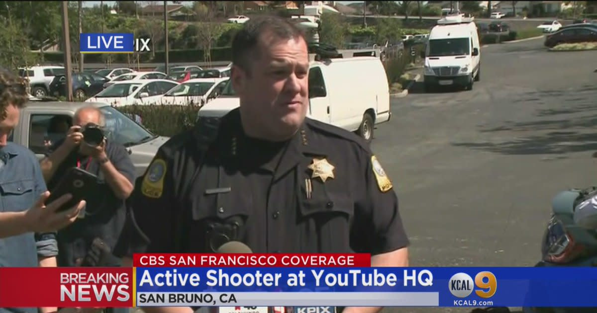 San Bruno police chief makes statement on shooting at