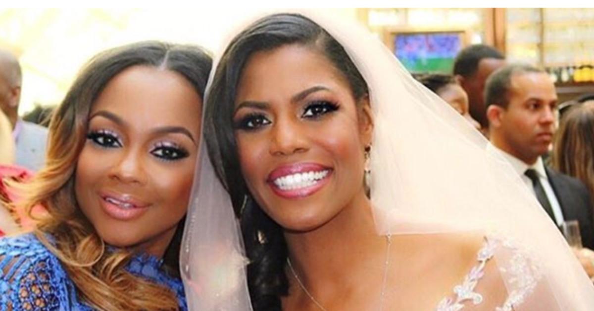 Phaedra Parks Under Fire For Attending Omarosas Wedding Revolt