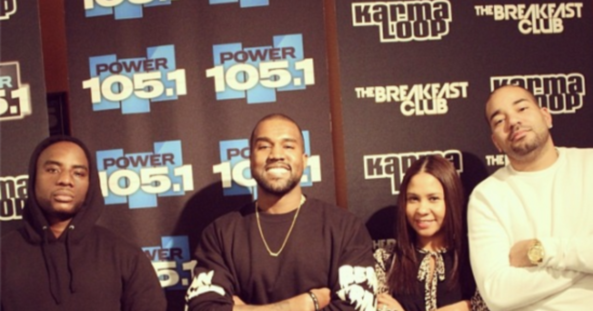 Kanye West adds excitement to Charlamagne interview, teases