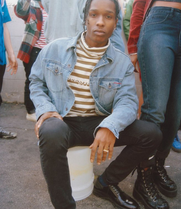 2016: For the most part, Rocky now dresses casual and comfy. But that's not to say that what he is wearing isn't tailored and made with the finest threads.