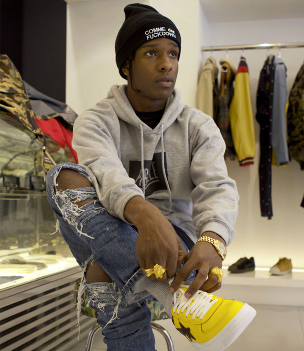 Starstruck 7 Fashion Tips We Learned From A Ap Rocky Revolt