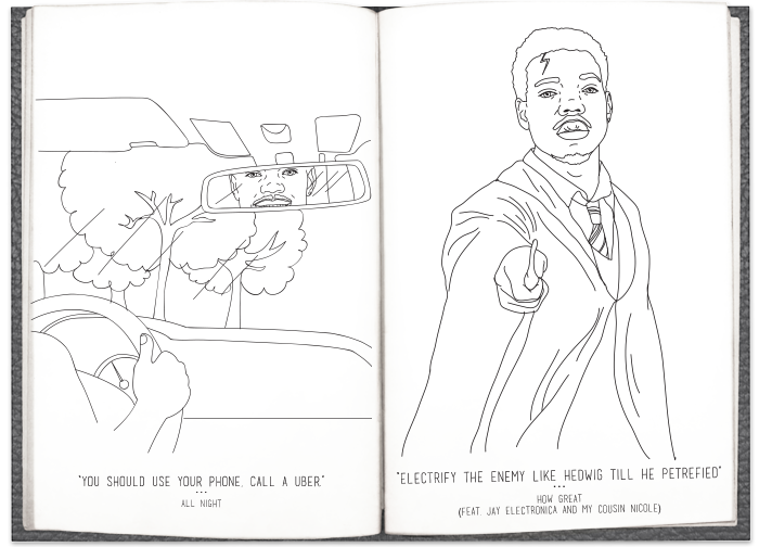Chance The Rapper Talks Chicago Talent Inspires An Actual Coloring