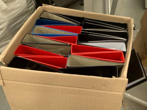 Foolscap Lever Arch File - one lot of 20