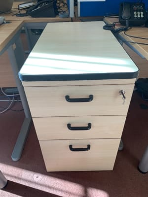 Desk height Pedestal