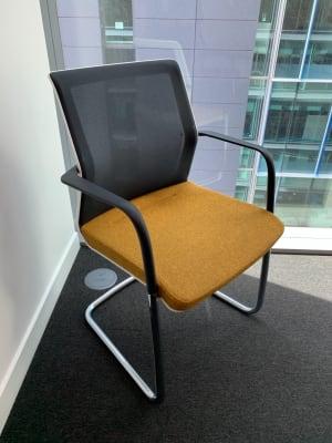 Orangebox Workday Cantilever Armchair