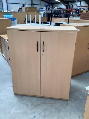Cabinet metal shelves