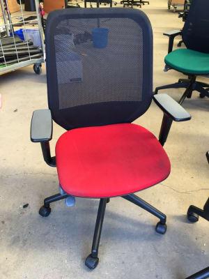 Mesh back Orangebox Joy operator task chair
