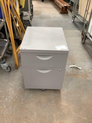 ikea Erik Grey metal drawer unit
