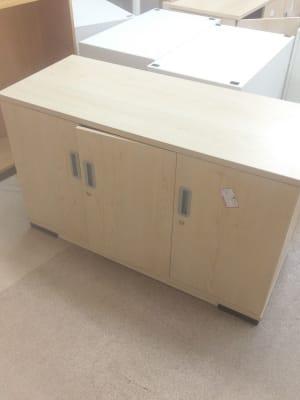 beige wooden cabinet