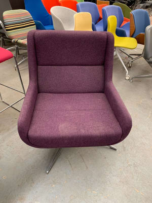 Large recliner arm chair