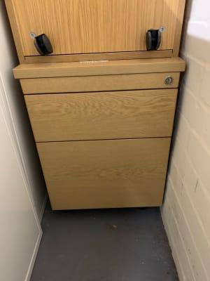 2-drawer under desk pedestal