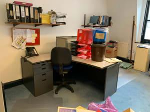 Left Curved desk