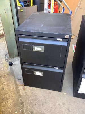 2 door filing cabinet