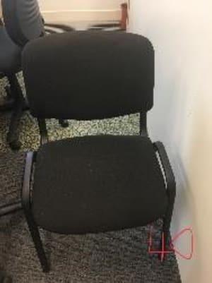 Waiting room chair