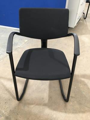 Haworth black Comforto meeting chair