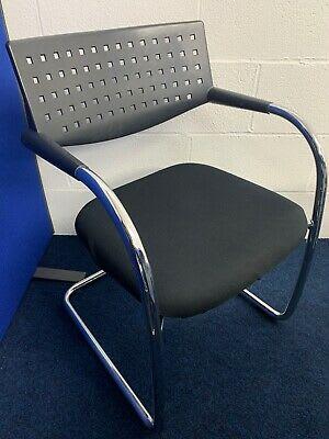 Vitra Vis A Vis Black Meeting room chair