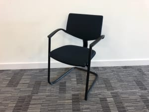Haworth comforto Meeting conference chair blue