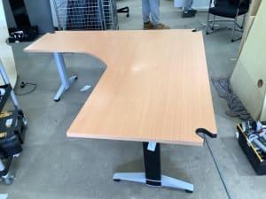 large Electric corner desk 180
