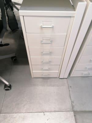 Ikea helmer metal Pedestal
