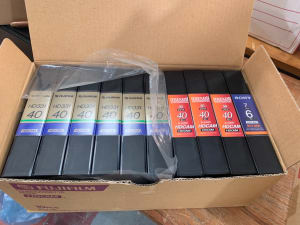 HD Recording Tapes - 1 BOX of 10pcs Mixed.