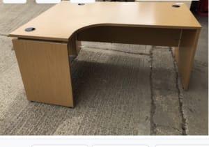 Left hand desk