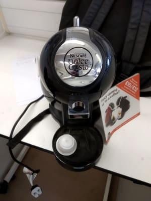 Piccolo nescafe black coffeemaker