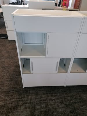 Double sided metal Cabinet