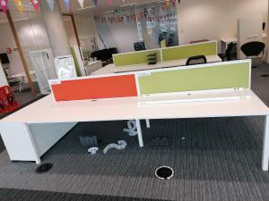 Bank of 4 Desks