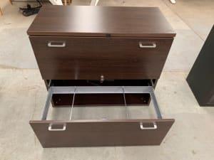 Suspension file cabinet