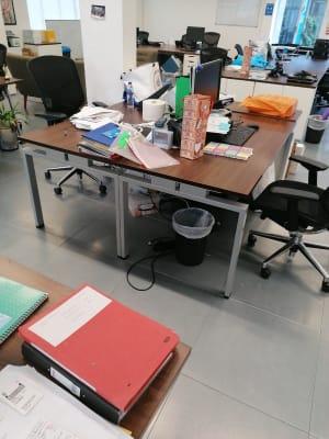 Bank of 2 desks